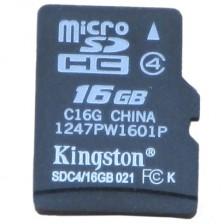 金士顿(Kingston)16GB 高速手机存储卡  手机内存卡