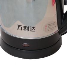 万利达电热水壶1.8L/SHC-2017B  不锈钢电热水壶