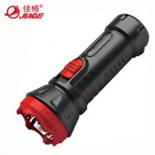 佳格JIAGE充电式LED手电筒 YD-8901  铅酸蓄电池