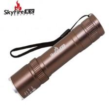 SkyFire天火SK-8006充电式伸缩强光电筒/迷你电筒/便携式充电手电
