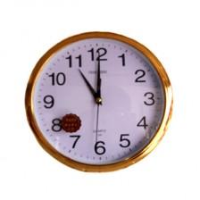 常胜金色圆形挂钟CHANG SHENG 超强静音设计