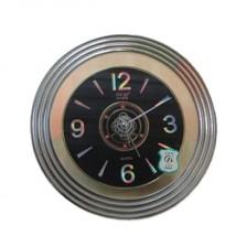 杰琪超静音挂钟 圆形电子挂钟  家用电子挂钟
