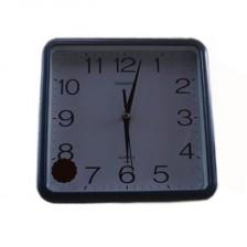 CHANGSHANG常胜方形挂钟311蓝色  石英方形挂钟