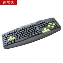 达尔优卡丁车游戏单键盘  电脑键盘  网吧键盘