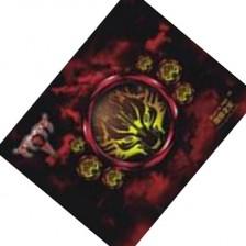 游戏鼠标垫 办公多用鼠标垫 地狱之火 芳香型橡胶彩印布垫 买送热卖