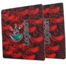 罗技红鼠标垫/游戏鼠标垫 芳香型橡胶鼠标垫 买送推荐