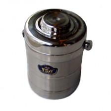 雅利不锈钢真空保温提锅1.5L  保温饭盒