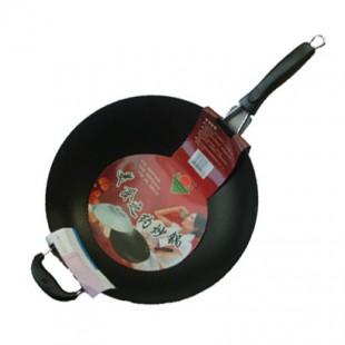 鸿牌美食之约炒锅/电磁炉炒锅 微油烟多用电磁炉炒锅