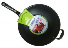 美的锅王34cm/电磁炉炒锅 微油烟多用电磁炉炒锅
