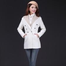 新款冬装大衣2013韩版淑女呢料外套 保暖外衣  时尚靓丽 包邮