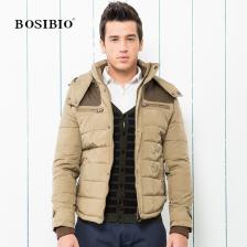 2013最新冬季新款时尚休闲潮流外套 男式连帽加绒版