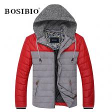 冬季新款时尚男式棉衣可脱卸帽棉衣外套/男精品男装 包邮