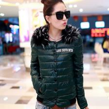 2013冬季新款时尚韩版修身短款女装羽绒服  保暖外套  风衣   包邮