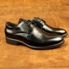英伦时尚皮鞋 办公皮鞋 真皮 时尚男鞋 买送网欧希盾皮鞋厂家直销 包邮