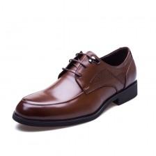 欧希盾进口牛皮皮鞋 真皮男鞋 高档皮鞋 男式正装皮鞋 职业装鞋 包邮