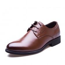 新款秋冬皮鞋 男士正装皮鞋 高档皮鞋 头层皮 商务皮鞋男士休闲鞋 正品 包邮