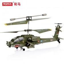 SYMA/司马直升飞机 S109G阿帕奇军事仿真遥控直升机 玩具模型 厂家直销 包邮