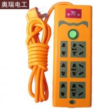 奥瑞 多插口排插 3米线 346  电脑 电磁炉 电暖气多用型排插