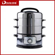 新款多丽电蒸笼ZHD-160A2电蒸锅 超大容量1600W 机械式 双层蒸笼 区域包邮