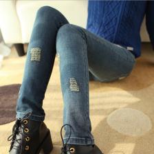 2014春季新款女装牛仔裤韩版显瘦小脚裤铅笔裤女长裤 潮 W8036 包邮