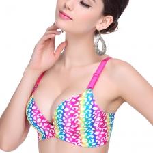 女式彩虹一片式无痕聚拢文胸内衣 调整型 舒适内衣性感内衣厂家直销 包邮