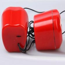 苹果音响 USB小音箱 电脑小对箱 2.0小音响厂家 迷你音响 笔记本音响 包邮