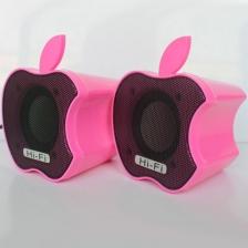 行路人USB小音箱 电脑小对箱  苹果音响 2.0小音响批发迷你 厂家直销  包邮
