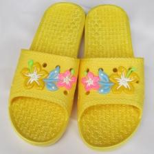 新款时尚女士拖鞋夏季防滑厚底家居拖鞋洗澡浴室PVC拖鞋塑料凉拖鞋