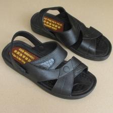 夏季新款泰国橡胶男凉鞋 户外防滑透气耐穿两用鞋 男