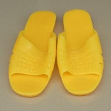 平底男拖鞋耐穿居家浴室防滑拖鞋 夏季舒适户外中老年塑料拖鞋