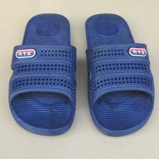 男款夏季厚底拖鞋 酒店工厂室内防滑拖鞋蓝户外平底凉拖鞋男