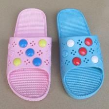 时尚休闲女拖鞋 户外浴室凉拖鞋平底防滑沙滩女拖鞋居家拖鞋
